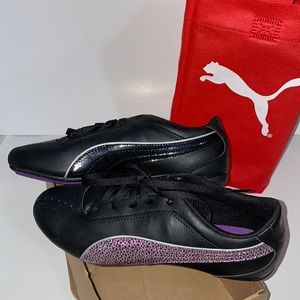 NEW Puma Tallulah Glam Jr Leather Shoes Size 6